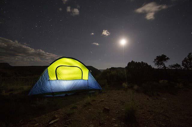 Idyllisch campen auf Rügen