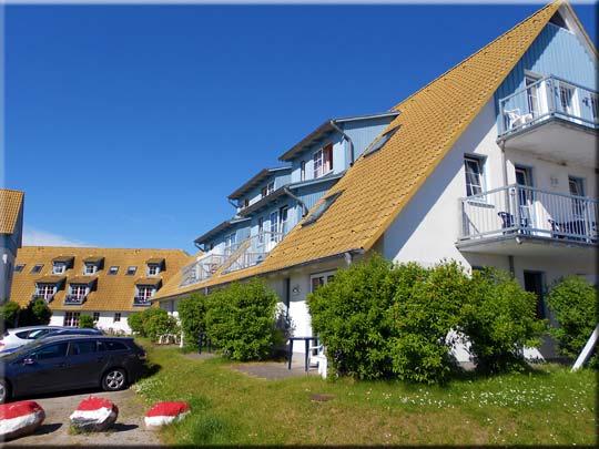 Schöne Appartemens und Ferienwohnungen in Breege: Kapitänshäuser