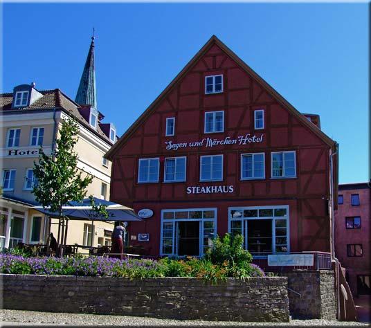 Steakhaus auf Rügen ... BERGEN - Sagen- und Märchenhotel!