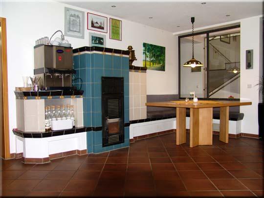 Kaminzimmer im Hotel-Restaurant Zur Alten Schmiede - Poggenhof - Schaprode - West-Rügen