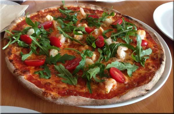 Weltklasse-PIZZA auf Rügen - in Wiek bei Rene (La Dolce Vita)